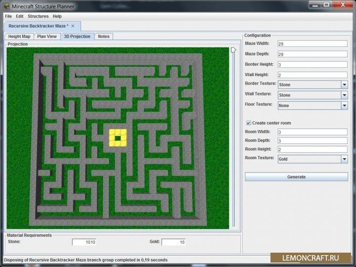 Minecraft Structure Planner 1 8
