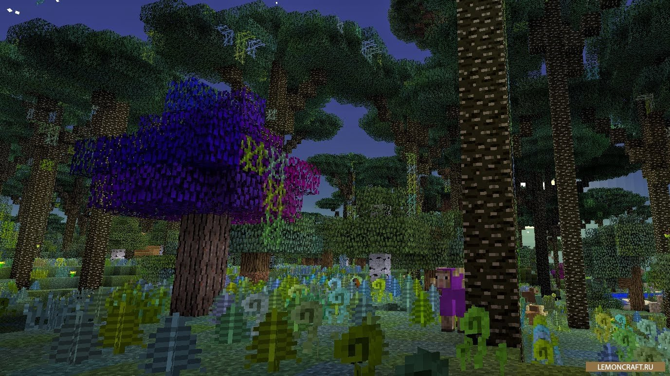 Скачать сервер с модом на сумеречный лес