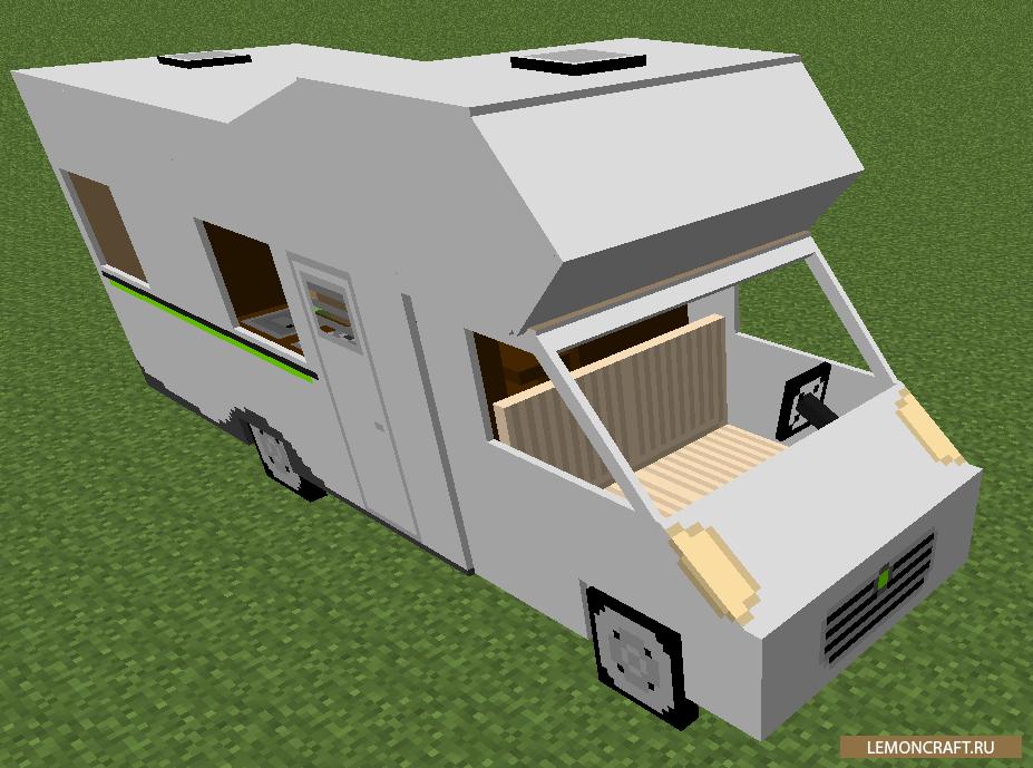 Мод на машины — alcara для minecraft 1. 7. 10.