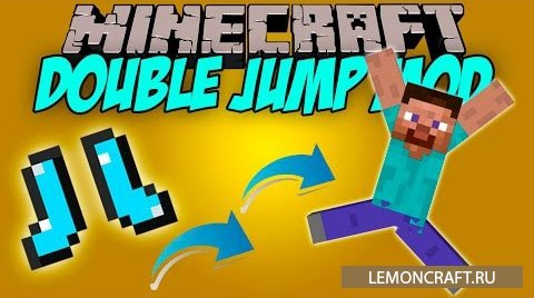 Небольшой мод на енчант Double Jump [1.9]
