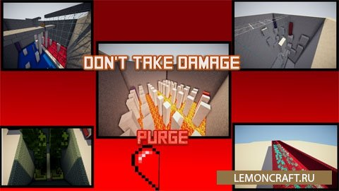 Карта на прохождение Don't Take Damage Purge [1.9.4] [1.9]