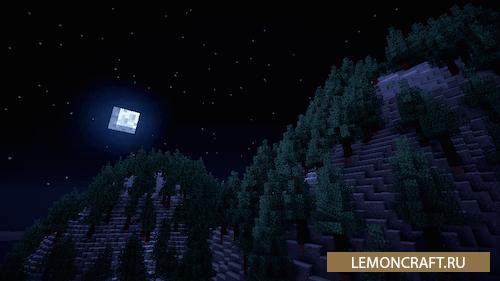 Мод на красивое ночное небо Stellar Sky [1.9] [1.8.9] [1.7.10]