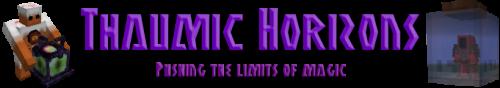 Аддон для таума Thaumic Horizons [1.7.10]