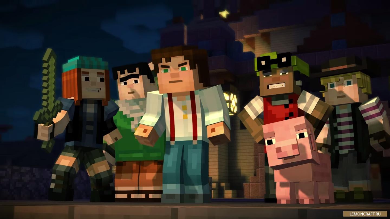 Сервера Minecraft 1.8 с мини-играми