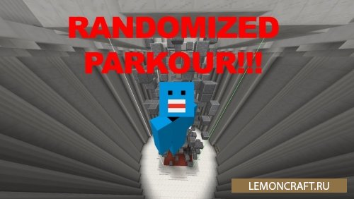 Паркур Карта Randomized Parkour [1.10.2]
