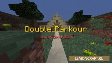 Паркур Карта Double Parkour [1.11]