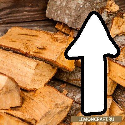 Мод на подъем стаков деревянных предметов InventoryBuoyancy [1.12.2]