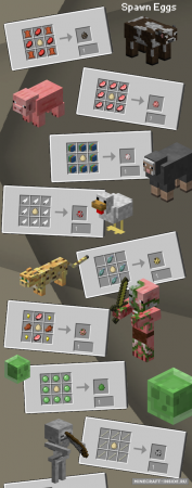 Мод на рецепты для существующих предметов Uncrafted [1.12.2] [1.11.2] [1.10.2] [1.7.10]
