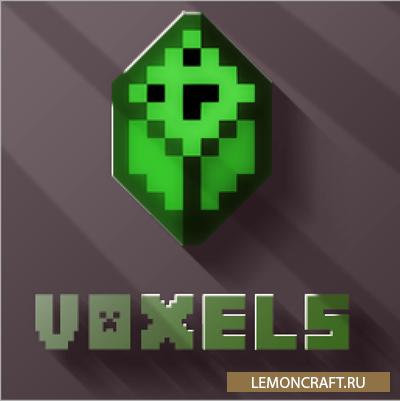 Мод на криперов-жителей Voxels [1.10.2] [1.7.10]