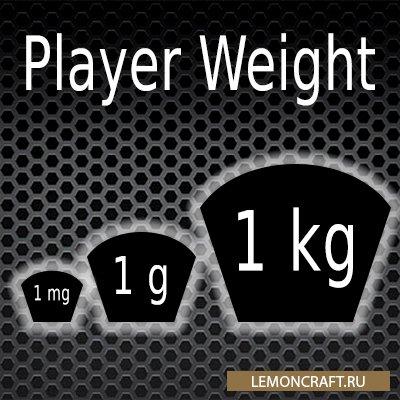 Мод на регулировку веса Player Weight [1.12.2]