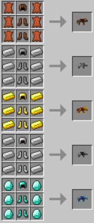 Мод на ручных волков Wolf Armor and Storage [1.12.2] [1.11.2] [1.7.10]