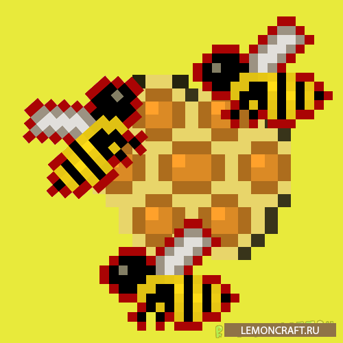 Мод на новых пчел More Bees [1.12.2] [1.11.2] [1.10.2]