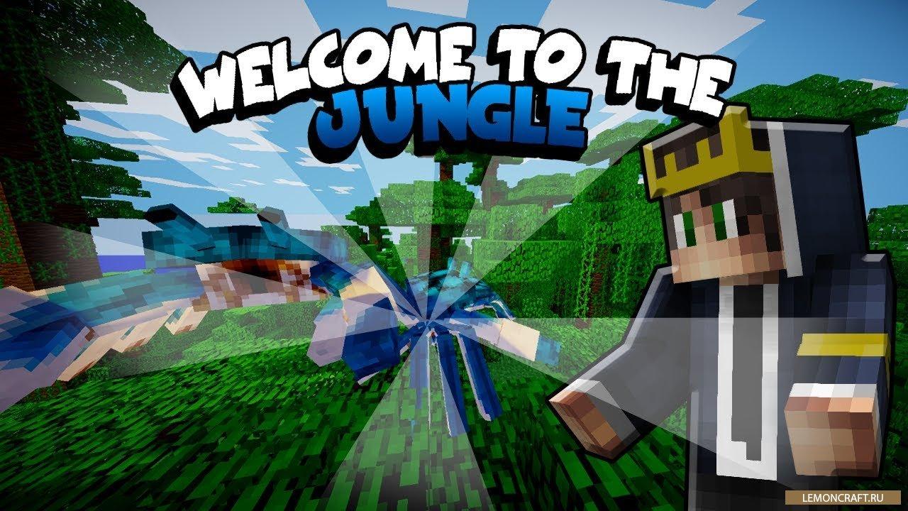 Мод на новые биомы и измерения Welcome to the Jungle [1.12.2] [1.11.2] [1.10.2] [1.7.10]