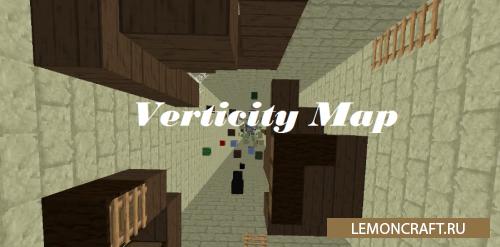 Необычная паркур карта Verticity [1.9.4] [1.9]