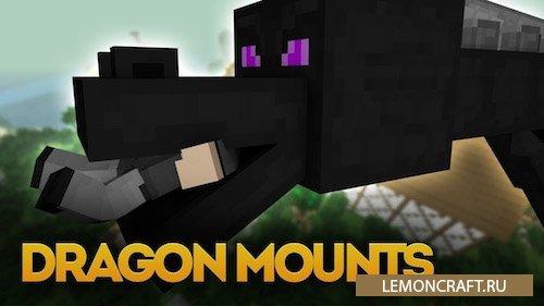 Мод на приручения дракона Dragon Mounts [1.10.2] [1.9.4] [1.8.9]
