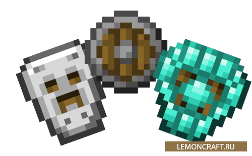 Мод на 5 новых щитов Spartan Shields [1.12.2] [1.11.2] [1.10.2]