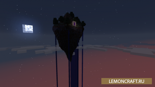 Мод на летающий остров The Void [1.12.2] [1.11.2] [1.10.2]