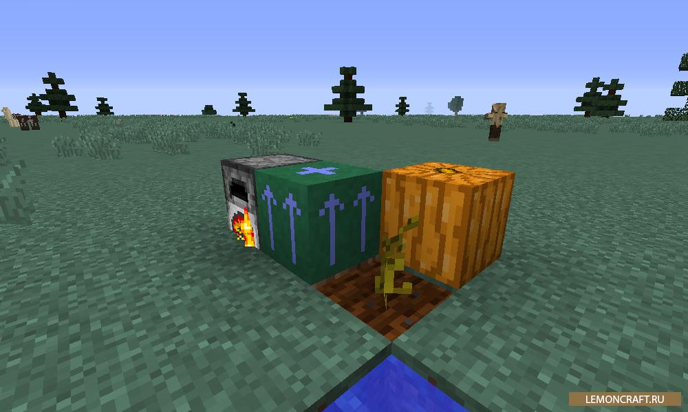 Мод на ускорение работы блоков Block Booster [1.12.2]