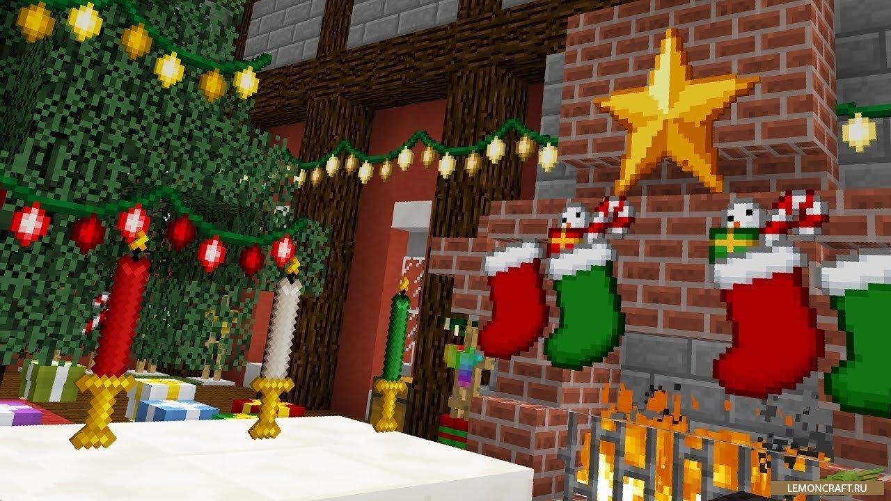 Мод на новогоднюю атмосферу Christmas Festivity [1.12.2]