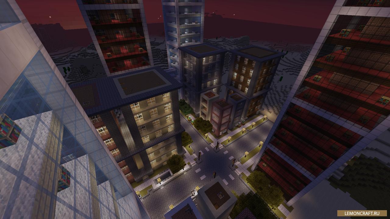 Мод на специфические блоки Dooglamoo Cities [1.12.2] [1.11.2] [1.10.2]