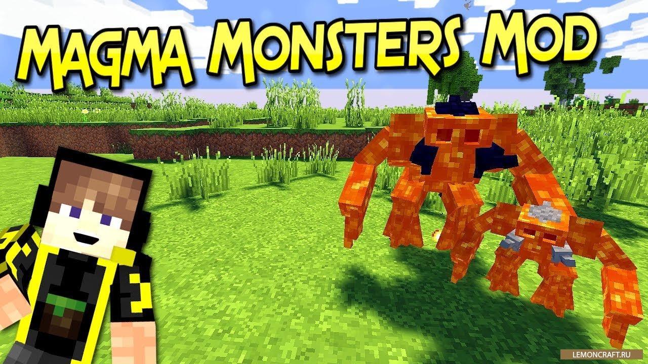 Мод на магических монстров Magma Monsters [1.12.2] [1.11.2] [1.10.2]