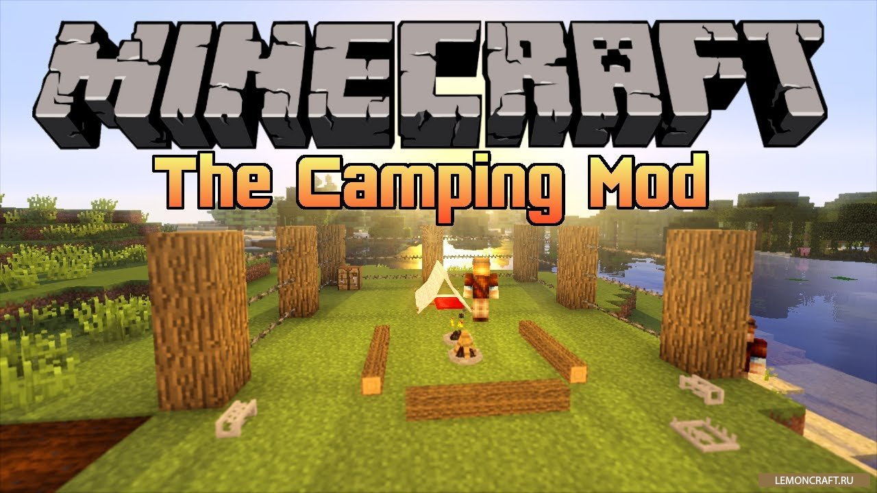 Мод на вещи для похода The Camping [1.12.2] [1.11.2] [1.10.2] [1.9.4]