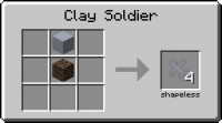 Мод на маленьких солдатиков Clay Soldiers [1.12.2] [1.10.2] [1.7.10]