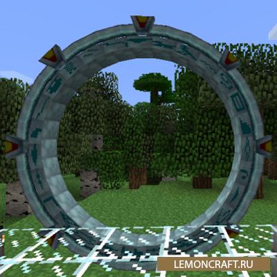 Мод на звездные врата Stargate Atlantiscraft [1.12.2]