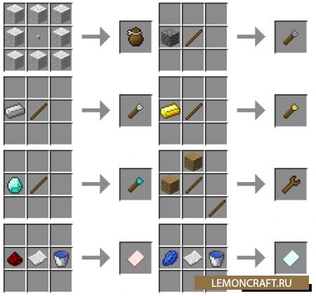 Мод на создание предметов Chisels and Bits [1.16.5] [1.12.2] [1.11.2] [1.10.2]