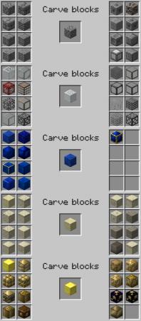 Мод на стамеску для декоративных блоков Chisel 2 [1.12.2] [1.11.2] [1.10.2]