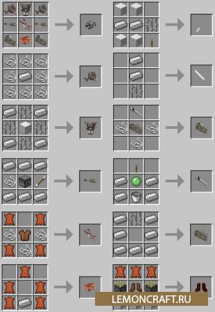 Мод на тросы-манервы 3D Maneuver Gear [1.11.2] [1.10.2] [1.9.4] [1.7.10]