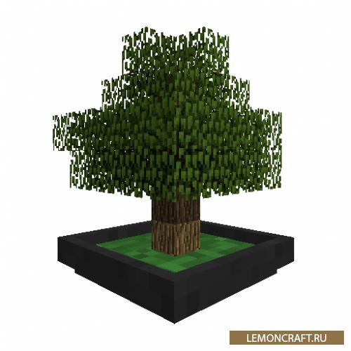 Мод на карликовые растения Bonsai Trees [1.14.4] [1.12.2]