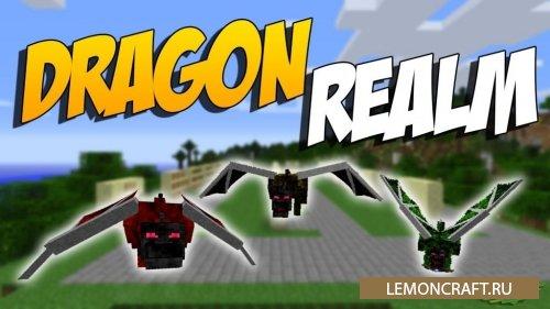 Мод на личного дракона Realm of The Dragons [1.12.2] [1.11.2] [1.10.2]