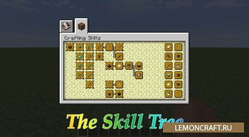 Мод на дерево умений The Skill Tree [1.12.2]