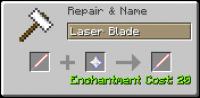 Мод на лазерный меч ToLaserBlade [1.14.3] [1.13.2] [1.12.2]