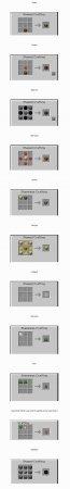 Мод на крафт ванильных предметов Recipes Plus [1.7.10]