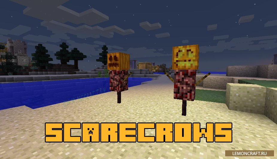 Мод на новых пугало Scarecrows [1.14.2] [1.13.2] [1.12.2]
