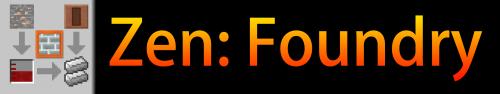 Мод на работу с рудами Zen:Foundry [1.12.2]