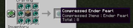 Мод на спрессованные предметы Not Enough Compression [1.12.2]