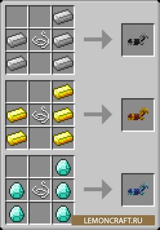 Мод на рецепт крафта Deep Miner [1.12.2]