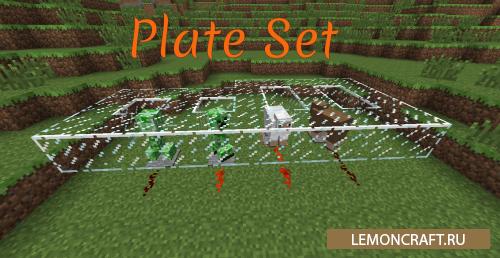 Мод на ловушки для животных Plate Set [1.7.10]