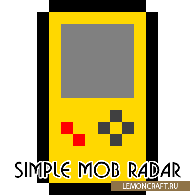 Мод на радар мобов Simple Mob Radar [1.12.2]