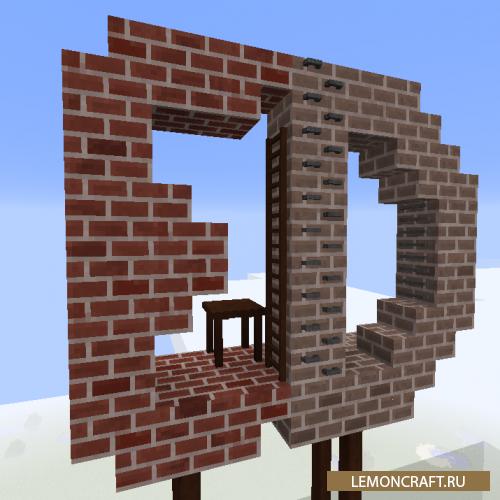 Мод на индустриальный декор Engineer's Decor [1.14.3] [1.13.2] [1.12.2]