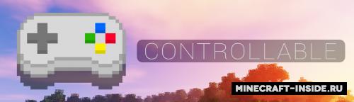 Мод на подключение игры к Sony PS4 Controllable [1.12.2]
