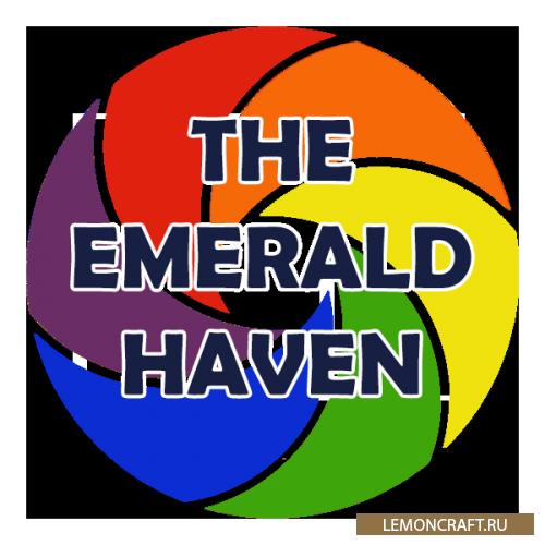 Мод на новое измерение, биомы и структуры The Emerald Haven [1.12.2]