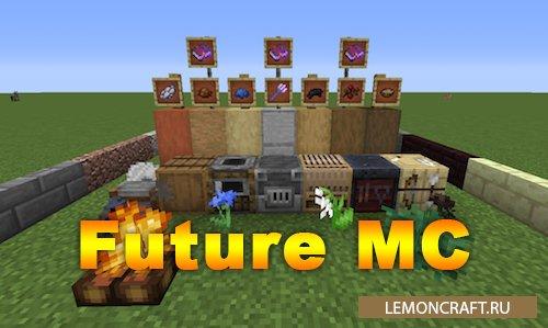 Мод на предметы из версии 1.14 Future MC [1.15.2] [1.12.2]