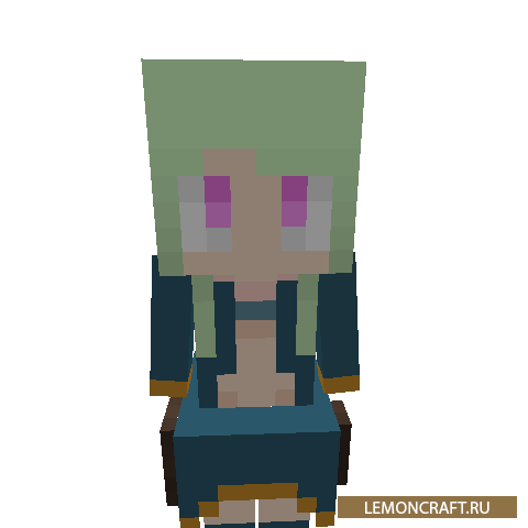 Мод на девушку торговца WanderMaid [1.14.4]