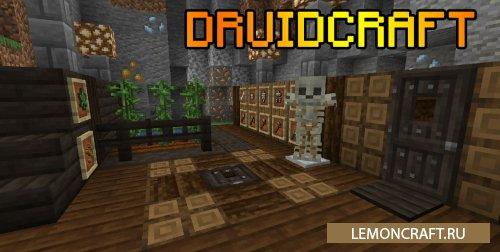 Мод на друида Druidcraft [1.16.4] [1.15.2] [1.14.4]