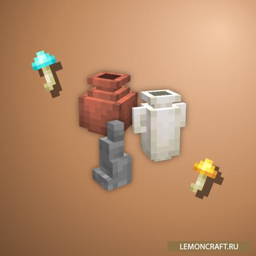 Мод на улучшенные подземелья Extended Caves [1.14.4]