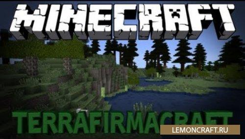 Мод на реалистичный мир TerraFirmaCraft [1.12.2] [1.7.10]